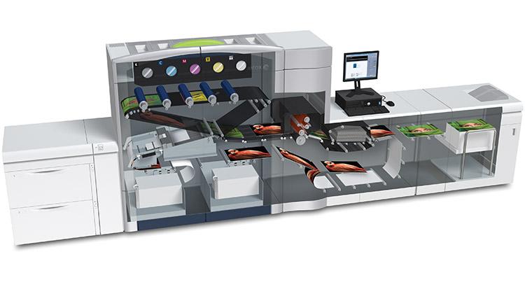 Xerox Printer Cut Away